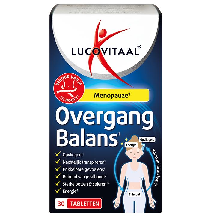 Lucovitaal Overgang Balans (30 Tabletten)