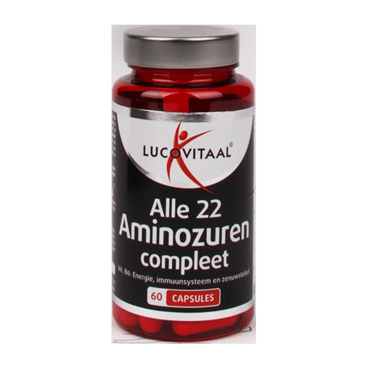 Lucovitaal Aminozuren Compleet (60 Capsules)