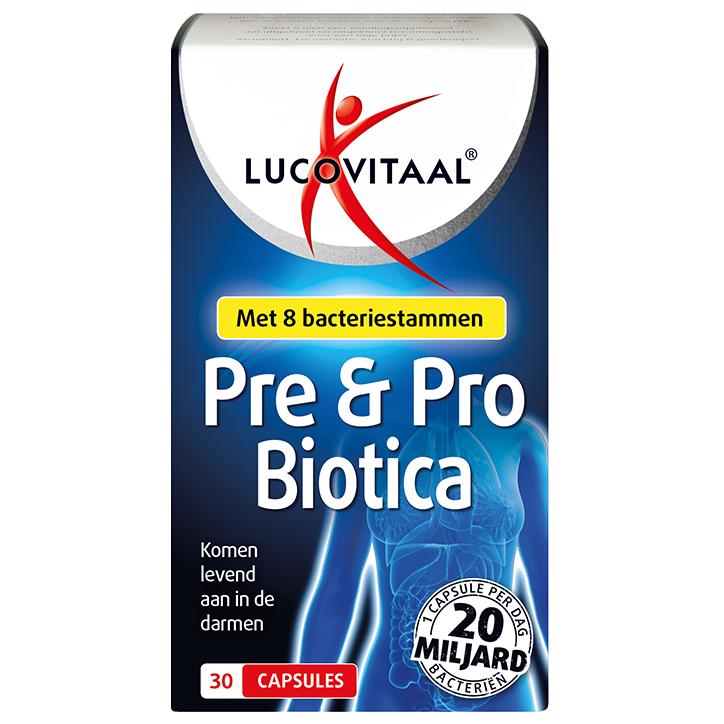 Lucovitaal Pre En Probiotica (30 Capsules)