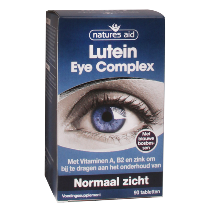 Natures Aid Lutein Eye Complex (90 Tabletten)