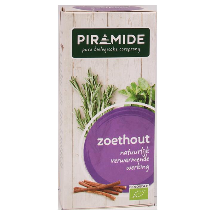 Piramide Zoethout Bio (20 Theezakjes)