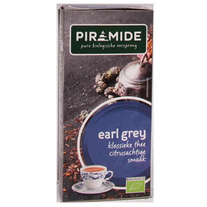 Piramide Earl Grey (20 Theezakjes)