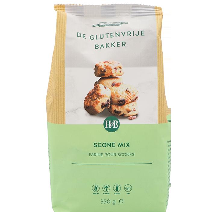 De Glutenvrije Bakker Scones Rozijnen Mix