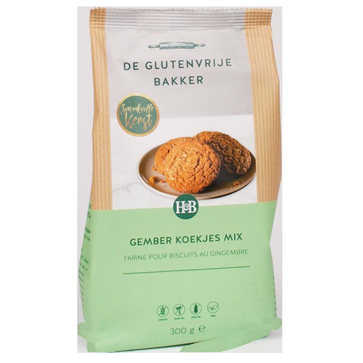 De Glutenvrije Bakker Gingerbread Cookies Mix