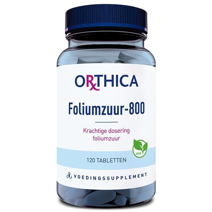 Orthica Foliumzuur 800 (120 Tabletten)