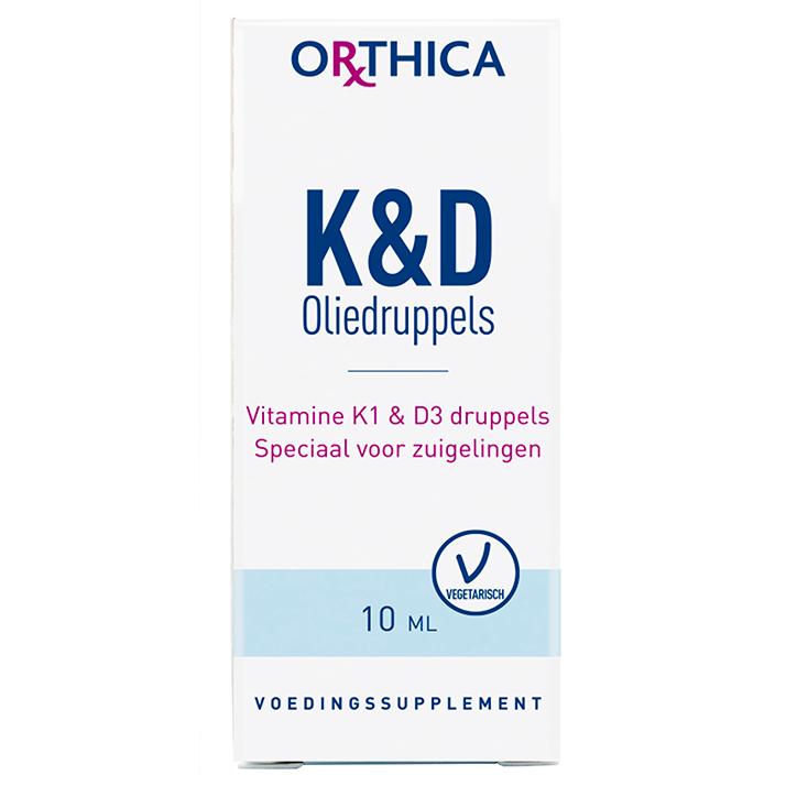 Orthica Vitamine K&D Druppels (10ml)