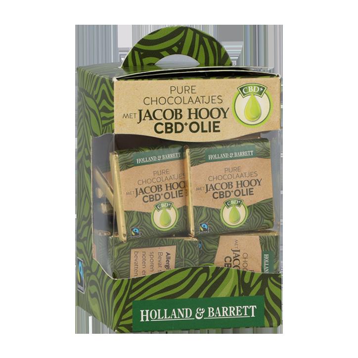 Jacob Hooy CBD Melkchocolade (30 Stuks)