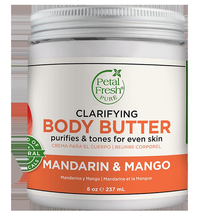 Petal Fresh Clarifying Body Butter Mandarin & Mango (237ml)