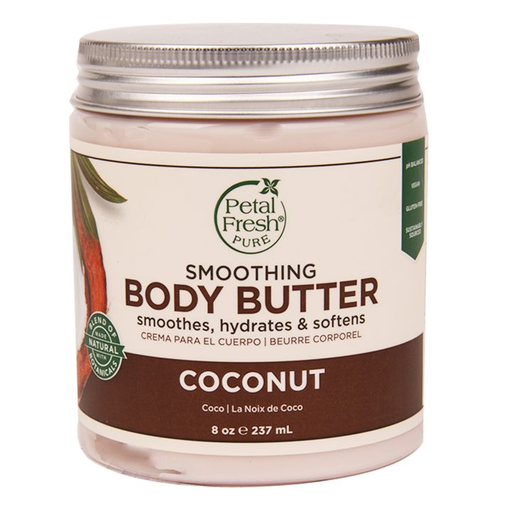 Petal Fresh Smoothing Body Butter Coconut (237ml)