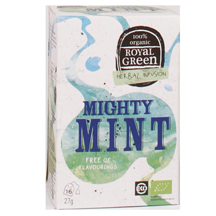Royal Green Mighty Mint Bio (16 Theezakjes)