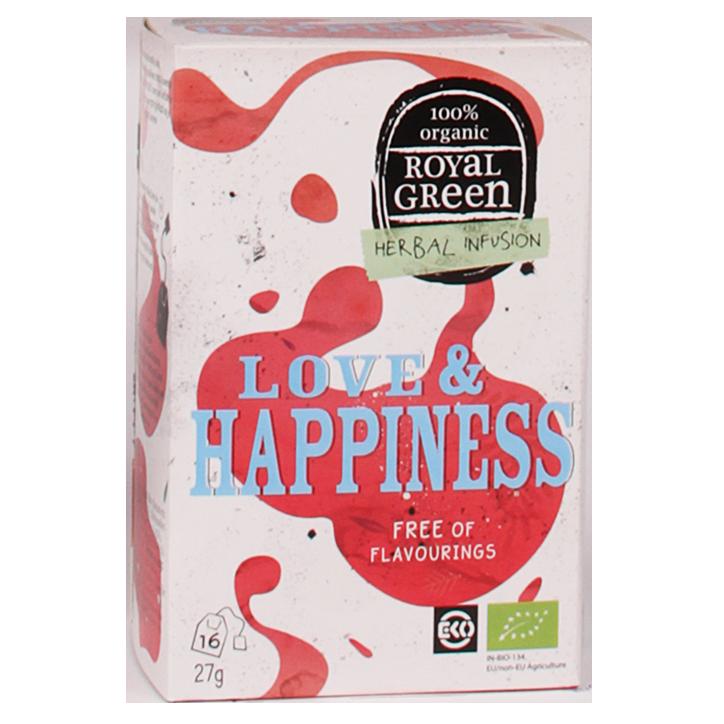 Royal Green Love & Happiness (16 Theezakjes)