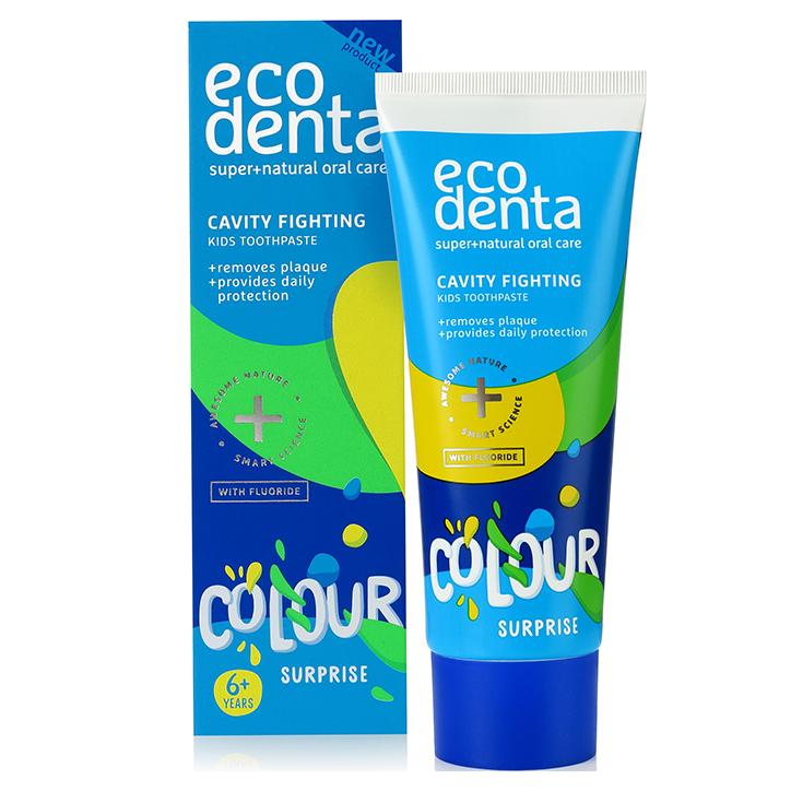 Ecodenta Dentifrice pour enfant Colour Surprise (75ml)