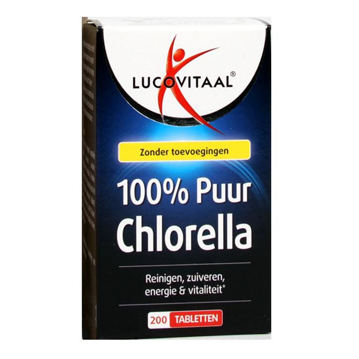 Lucovitaal Puur Chlorella (200 Tabletten)