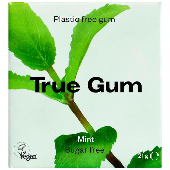 True Gum Mint & Matcha Kauwgom