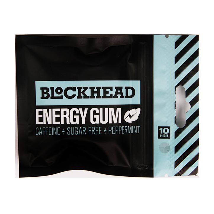 Blockhead Energy Gum (10 Stuks)
