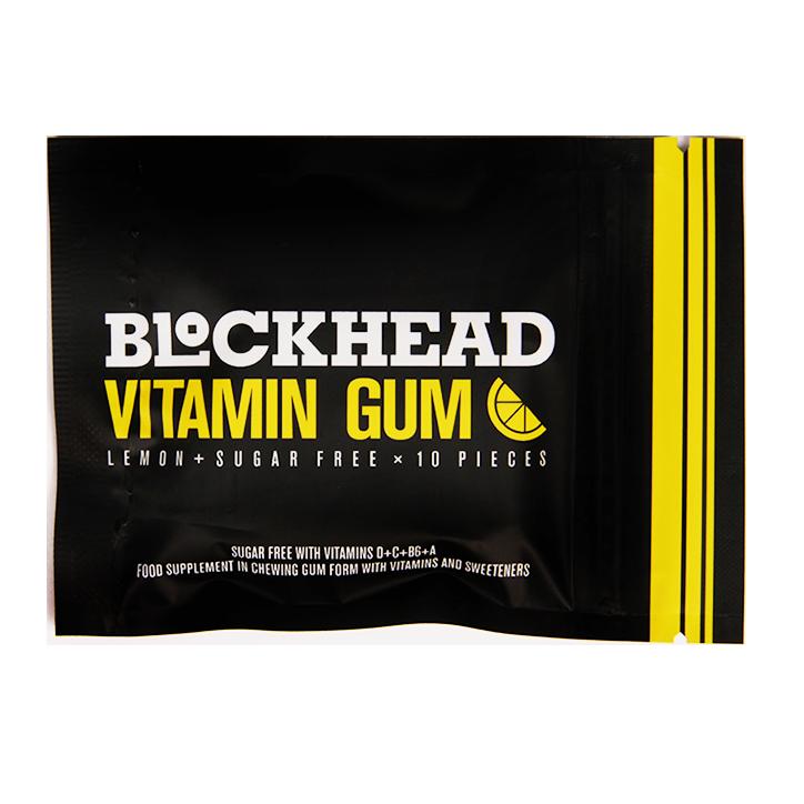 Blockhead Vitamin Gum (10 Stuks)