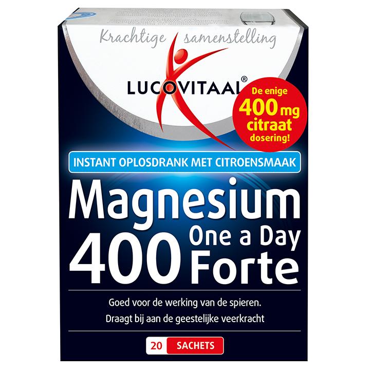 Lucovitaal Magnesium Forte, 400mg (20 Sachets)