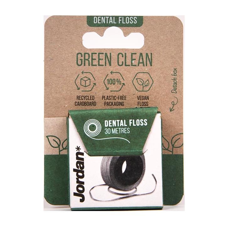 Jordan Green Clean Flosdraad (30 meter)
