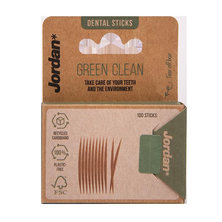 Jordan Green Clean Tandenstokers