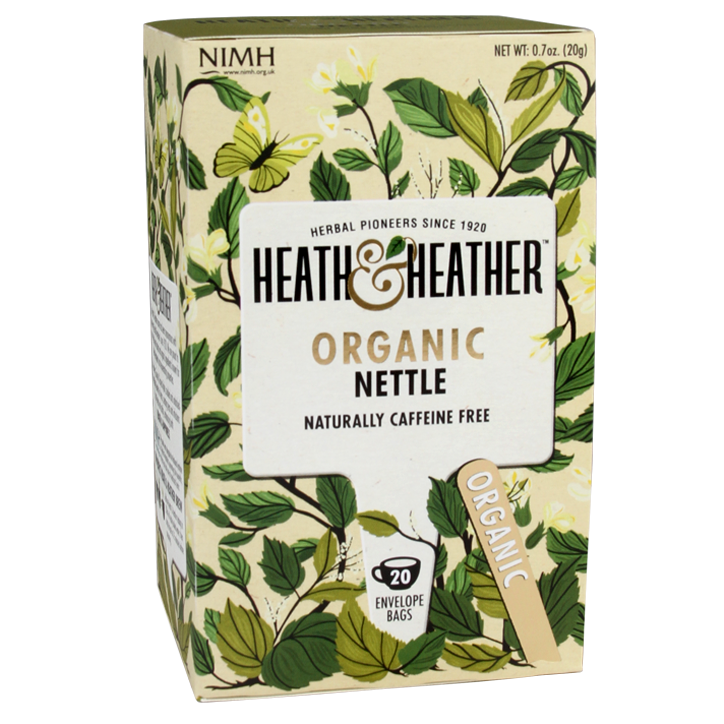 Heath & Heather Nettle Tea Bio (20 Theezakjes)