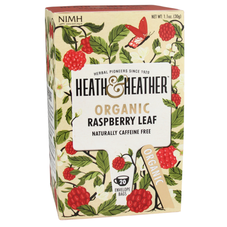 Heath & Heather Raspberry Leaf Tea Bio