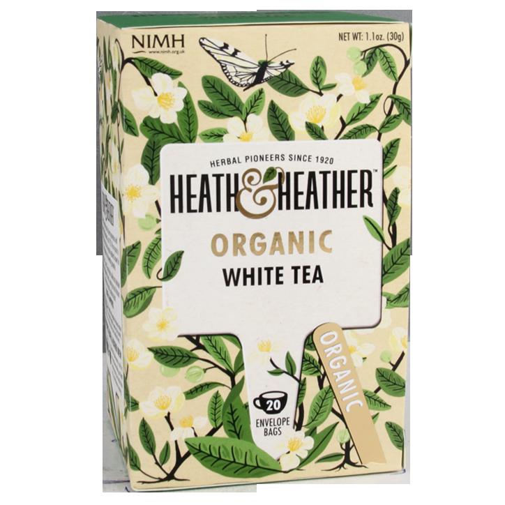 Heath & Heather White Tea Bio
