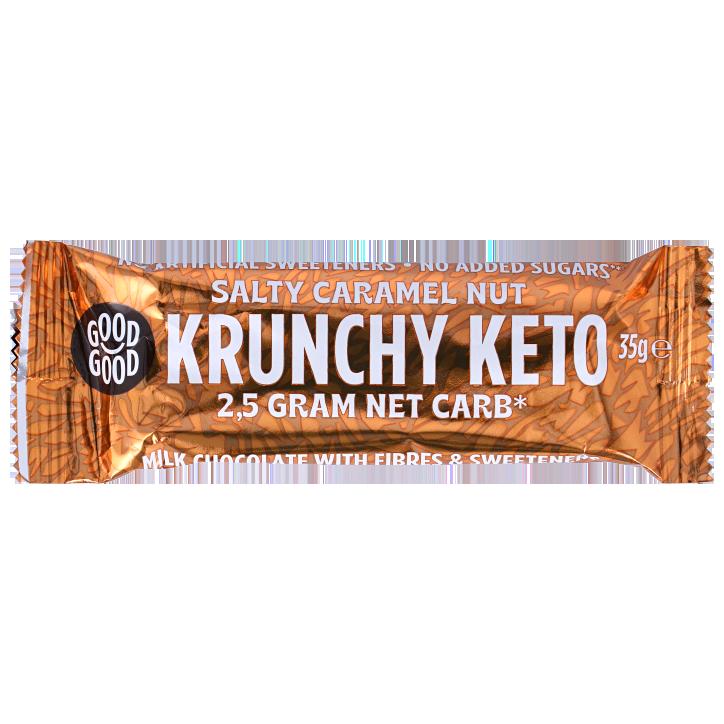 Good Good Crunchy Keto Bar Salty Caramel Nut (35g)