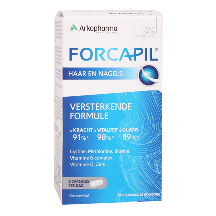 Arkopharma Forcapil Haar en Nagels (180 Capsules)