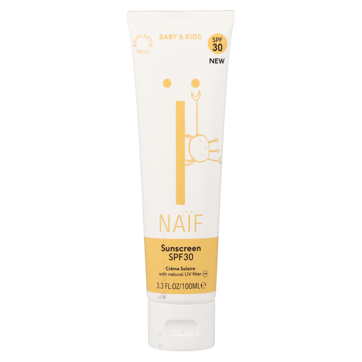 Naïf Sunscreen Baby & Kids SPF30