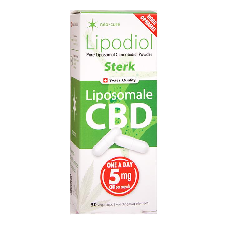 Neo-Cure Lipodiol Liposomale CBD Sterk