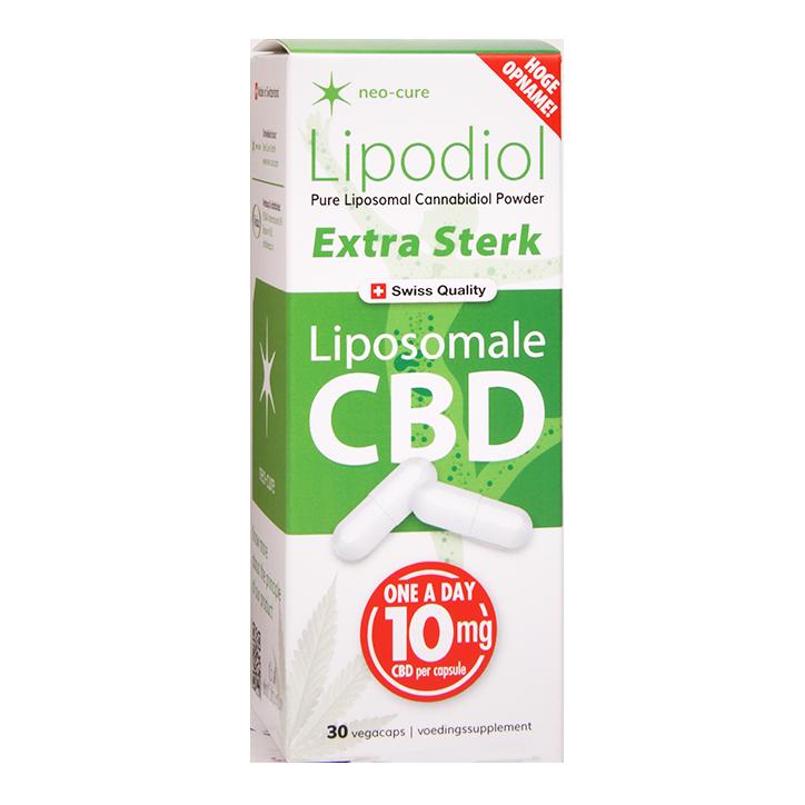 Neo-Cure Lipodiol Liposomale CBD Extra Sterk