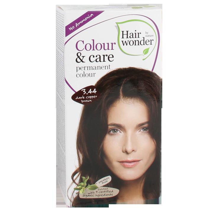 Hairwonder Colour & Care Brun foncé cuivré 3.44