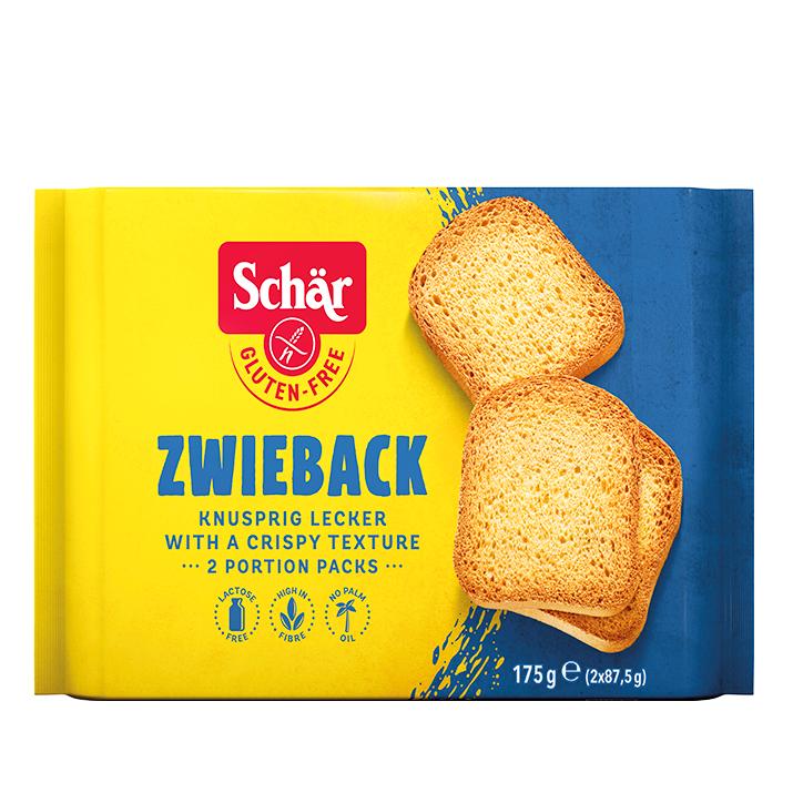 Schär Zwieback Toast Glutenvrij