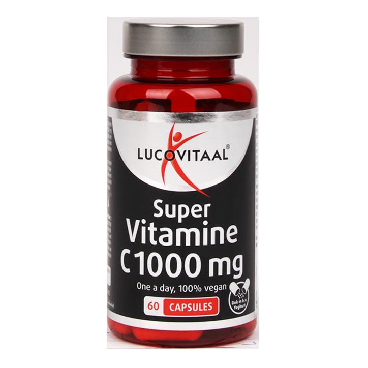 Lucovitaal Super Vitamine C, 1000mg (60 Capsules)