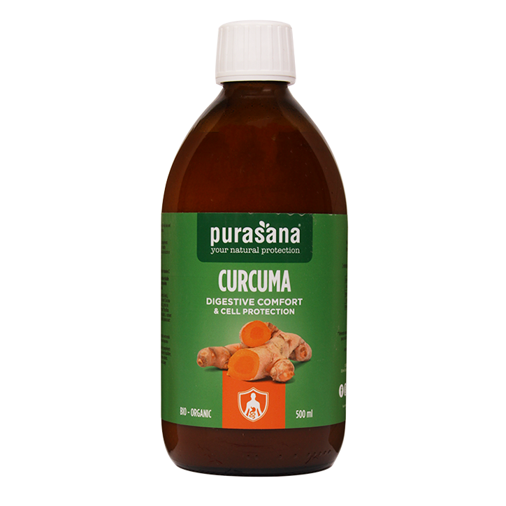 Purasana Curcuma Digestive Comfort & Cell Protection (500ml)