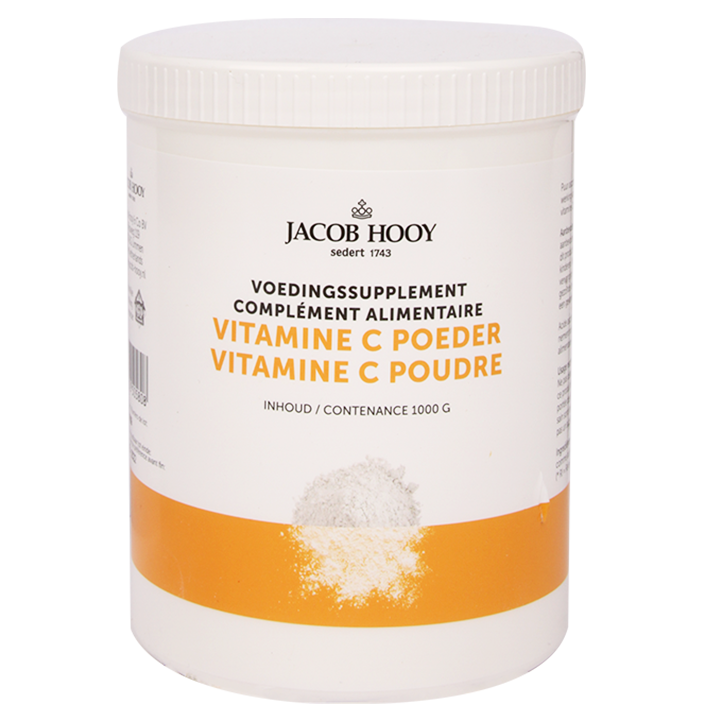 Jacob Hooy Vitamine C Poeder (1000gr)