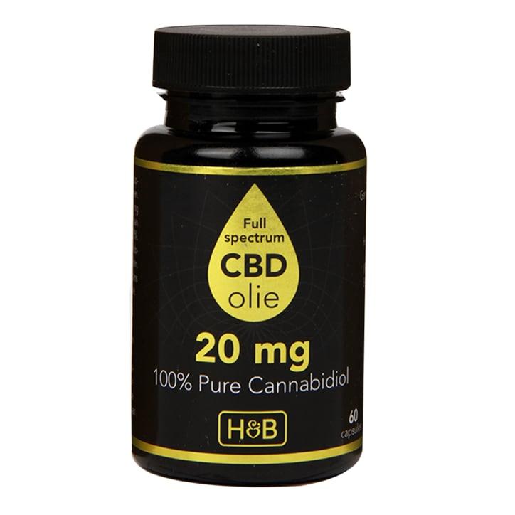 Holland & Barrett CBD 20mg (60 Capsules)
