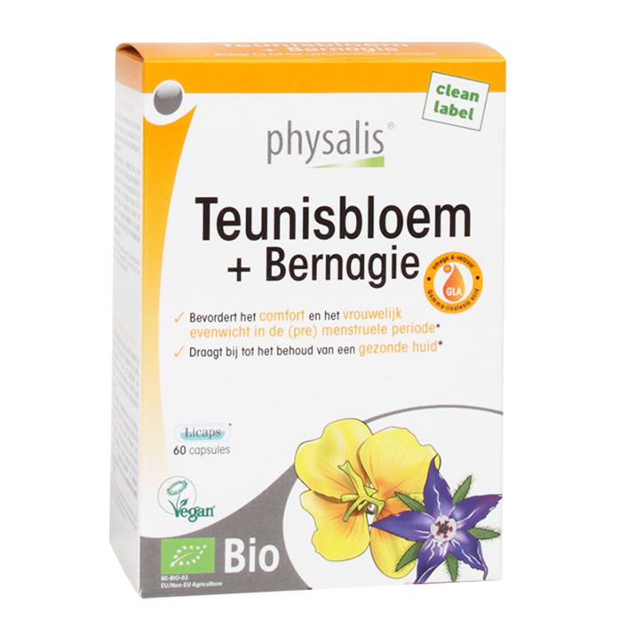Physalis Teunisbloem + Bernagie Bio