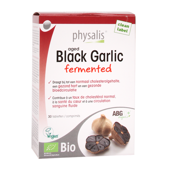 Physalis Aged Black Garlic (30 Tabletten)