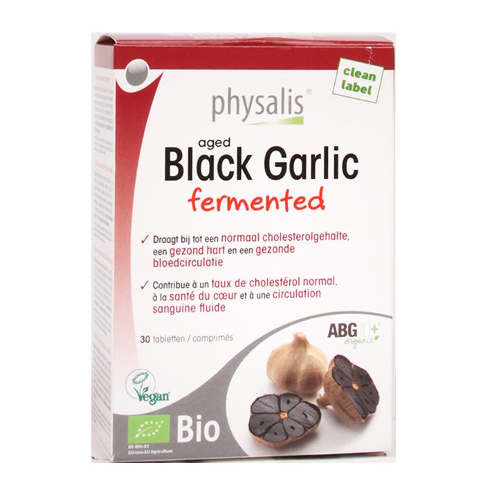 Physalis Aged Black Garlic Bio (30 Tabletten)