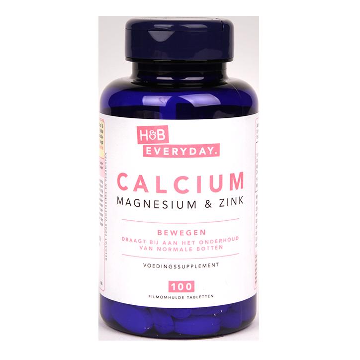 H&B Everyday Calcium, Magnesium & Zink (100 Tabletten)