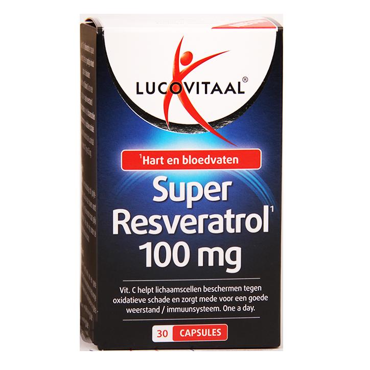 Lucovitaal Super Resveratrol, 100mg (30 Capsules)
