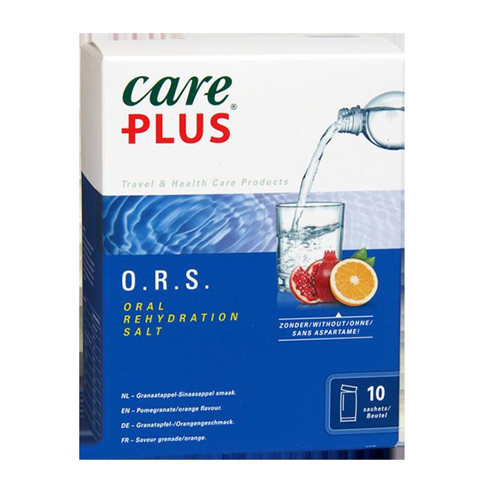 Care Plus Soluté de réhydratation orale (10 x 5,3 g)