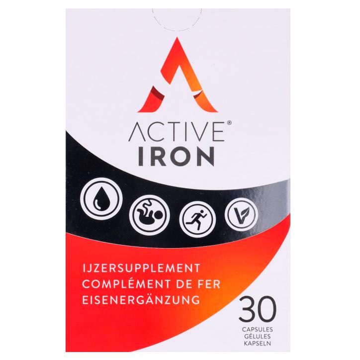 Active Iron Complément de fer (30 gélules)