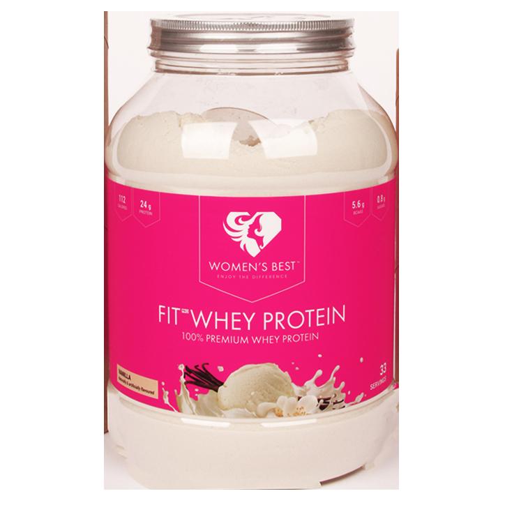 Women's Best Fit Whey Protein Vanilla (1000gr)