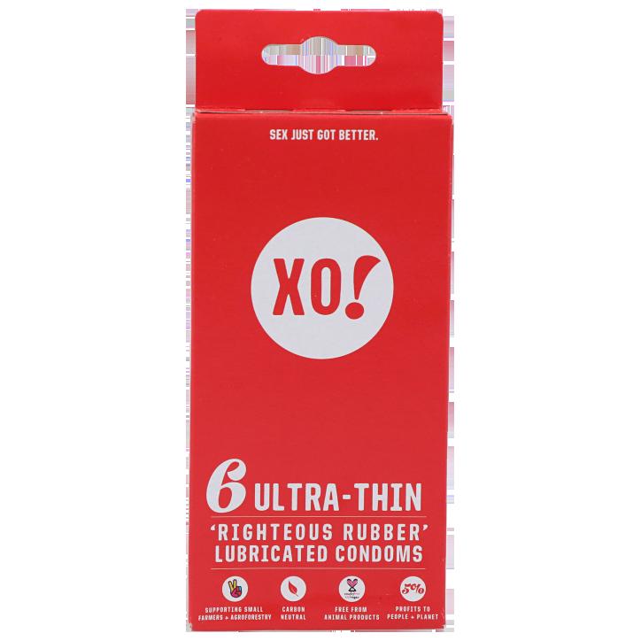 Xo! Préservatifs ultrafins (6 pièces)
