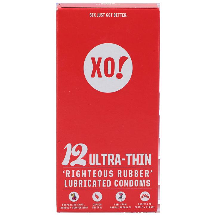 Xo! Préservatifs ultrafins (12 pièces)
