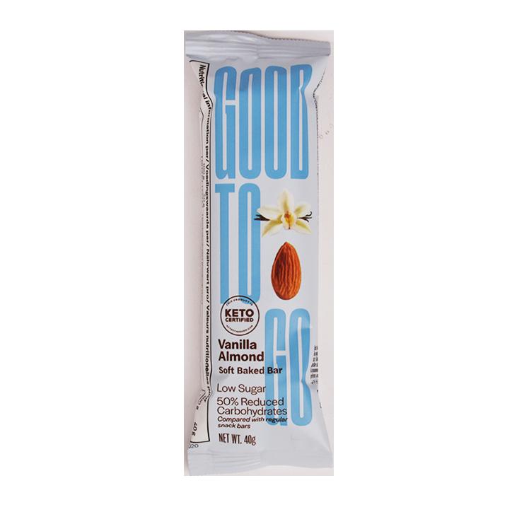 Good To Go Vanilla Almond Keto Bar (40 g)