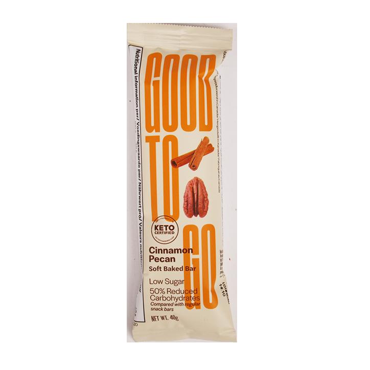Good To Go Cinnamon Pecan Keto Bar (40gr)