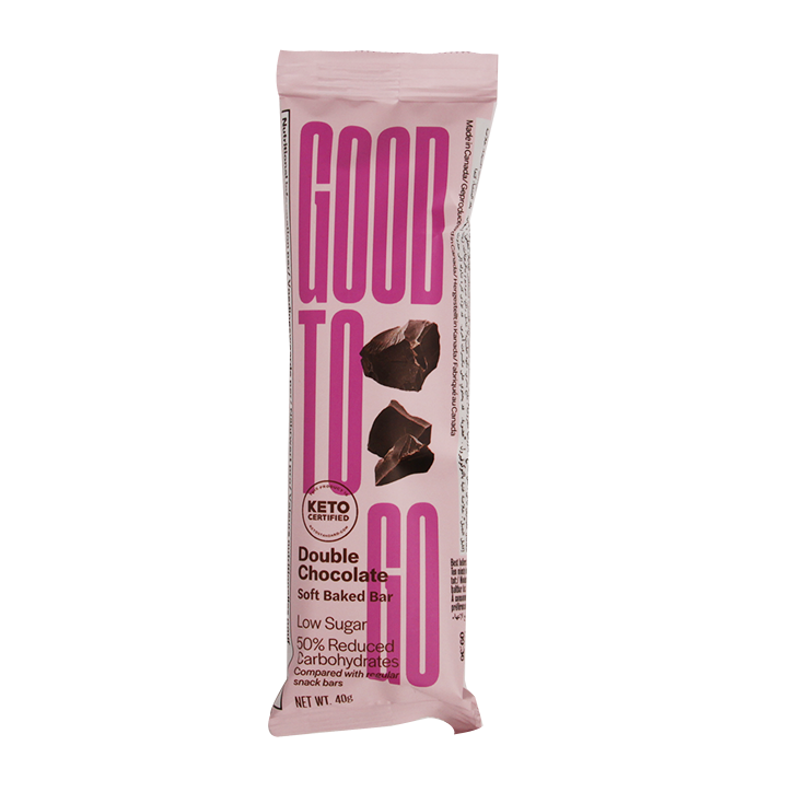 Good To Go Double Chocolate Keto Bar (40gr)